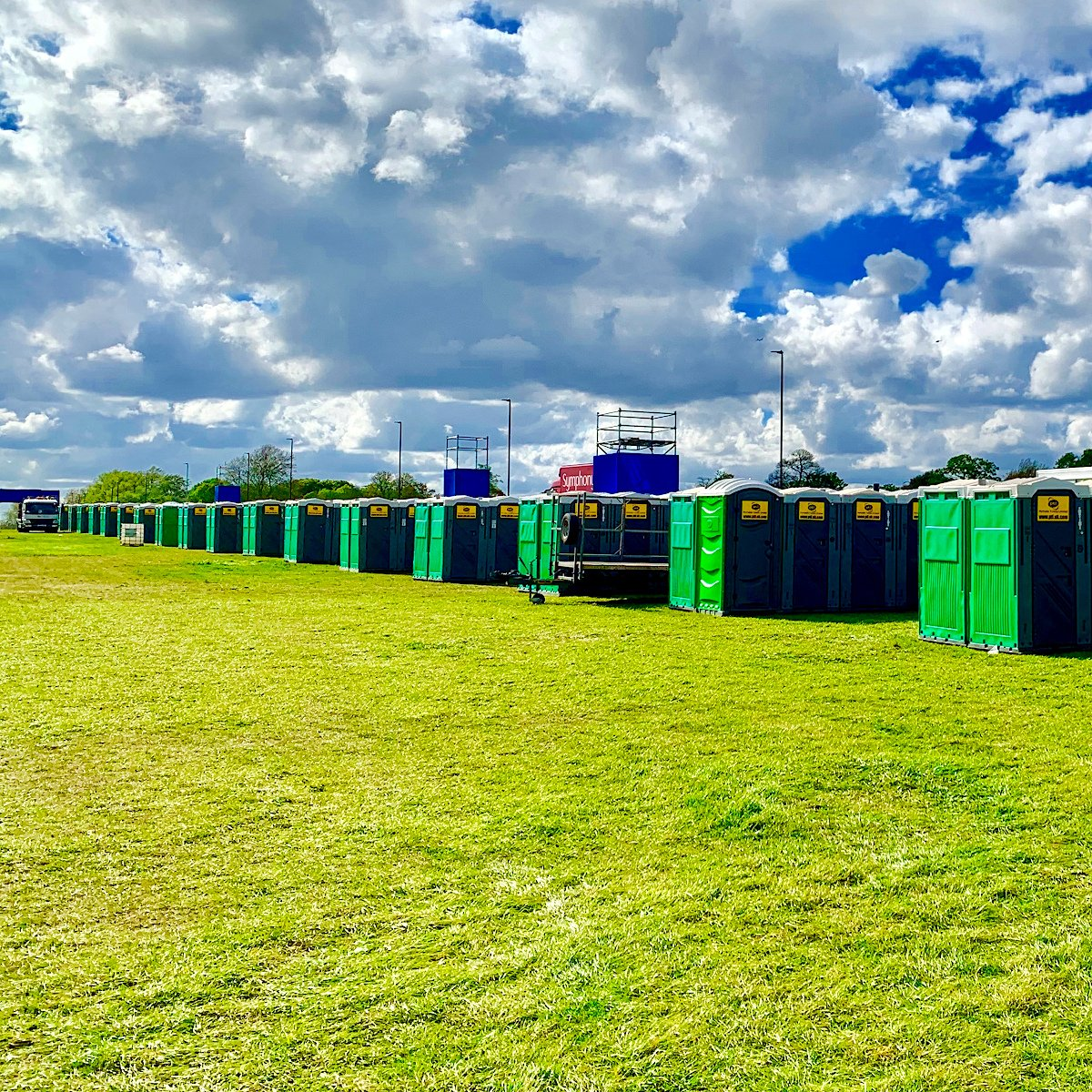 Sporting Events Toilets Trailer Supply