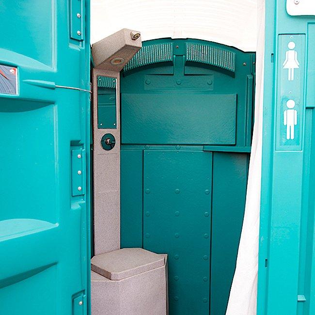 Electric Showers Construction Sites Sanitation Equipment Hire