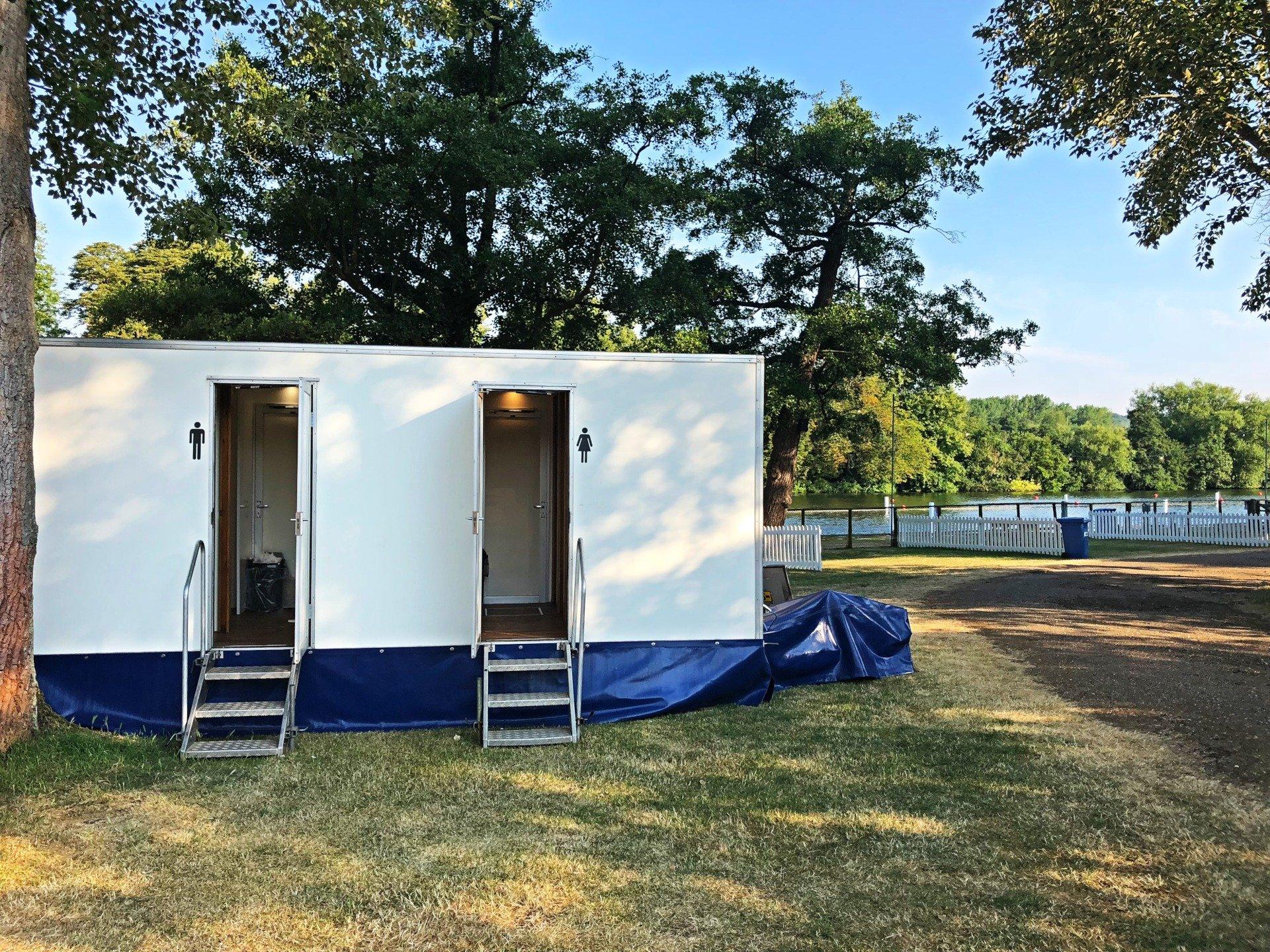 Henley Royal Regatta Trailers Vacumm POD Hire Rental