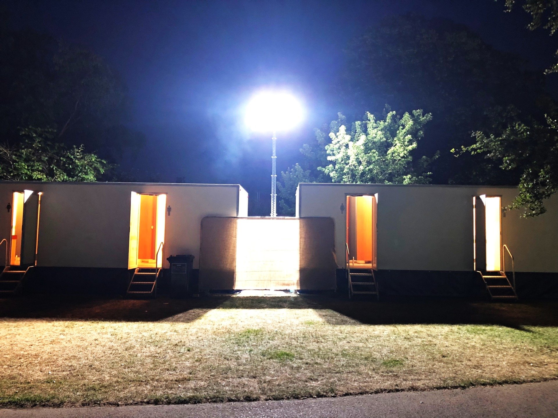 BST, Latitude & Kew – Outdoor events toilets hire