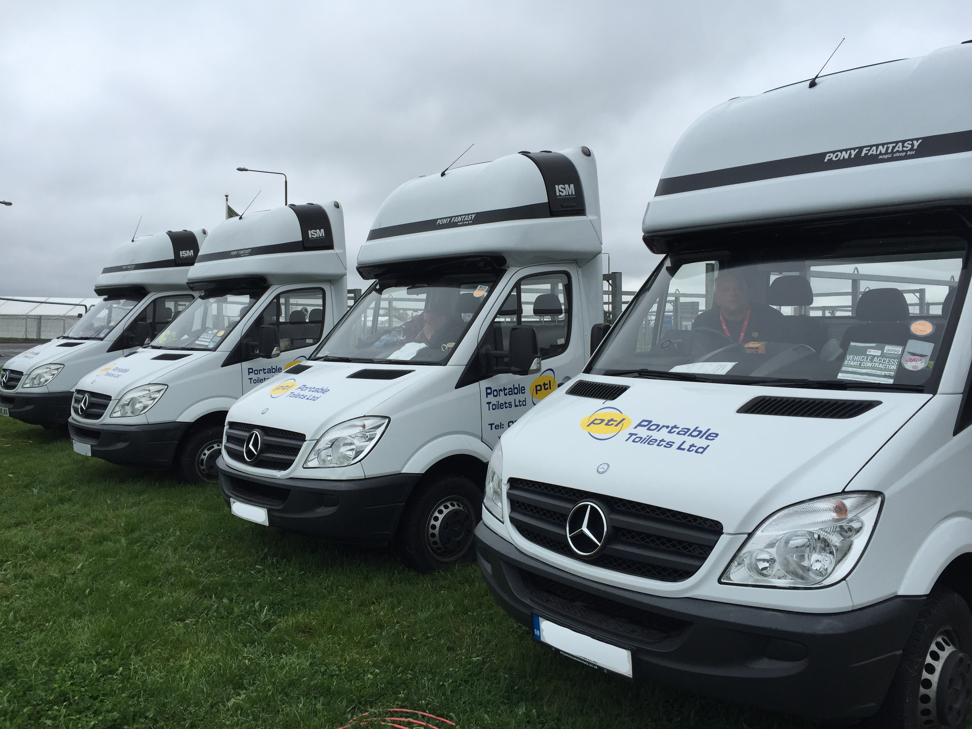 London Marathon Portable Loos 2015!