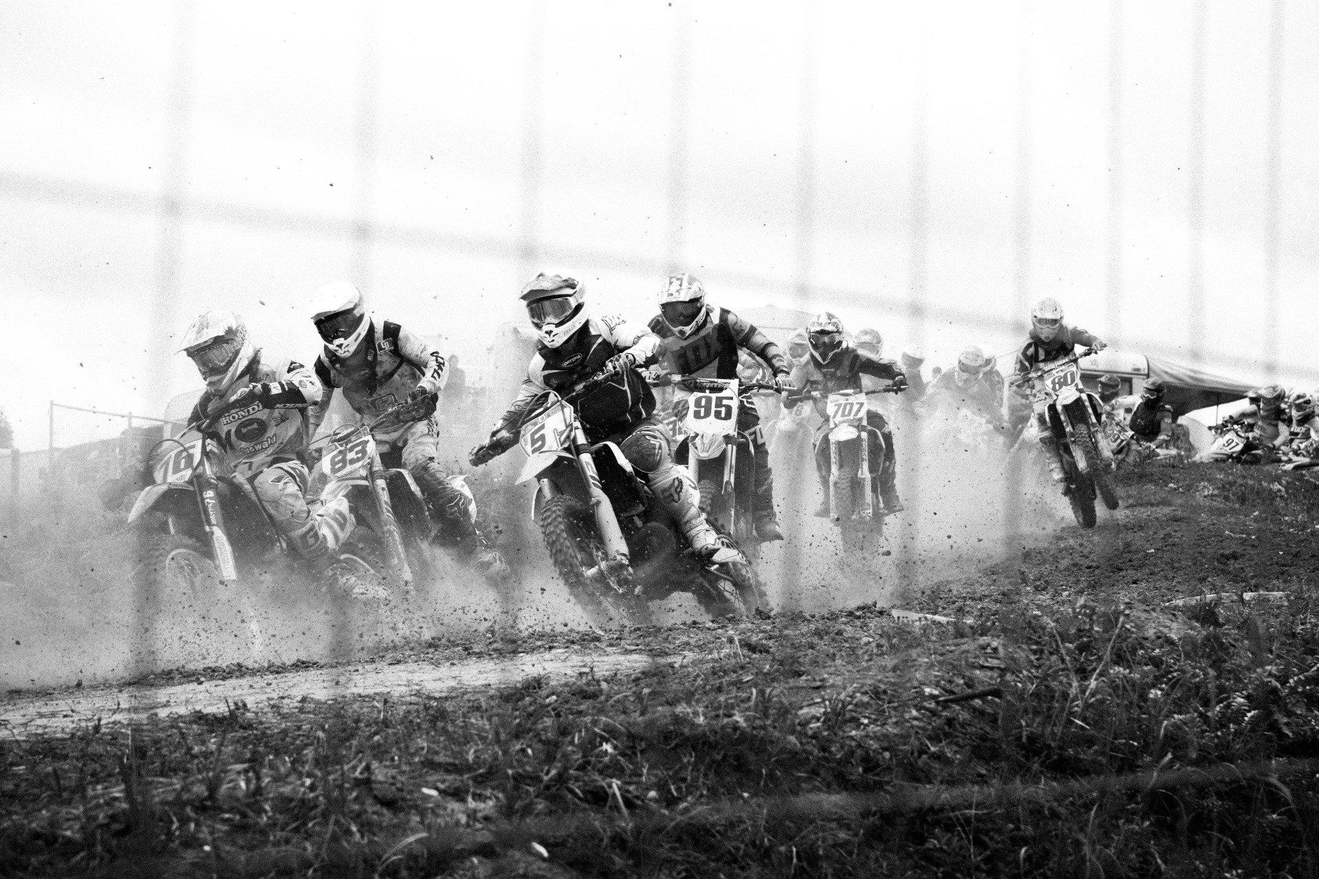 Racing ahead!