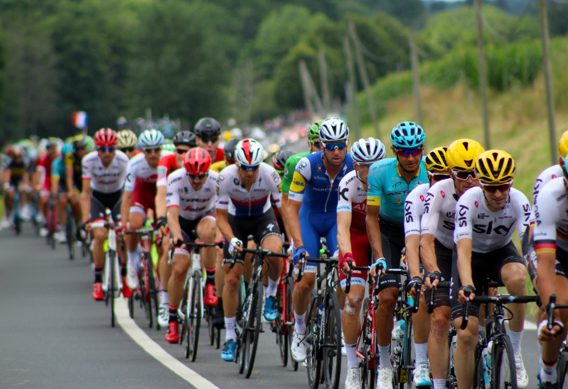 PTL Supplying Stage 3 Tour de France 2014!