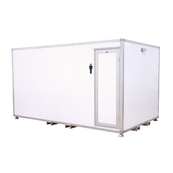 13 Bay Urinal VACPOD Festivals Concerts Male Urinals Hire Delivery Onsite