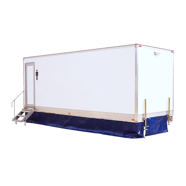 18 Bay Trailer Mounted Urinal Festivals Concerts Trailer WC Hire