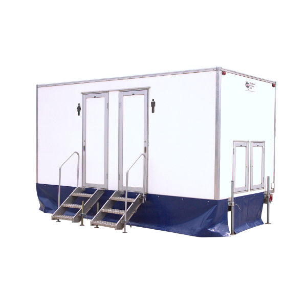 2+1 Trailer Mounted Toilet Trailer for festivals, sporting events and weddings