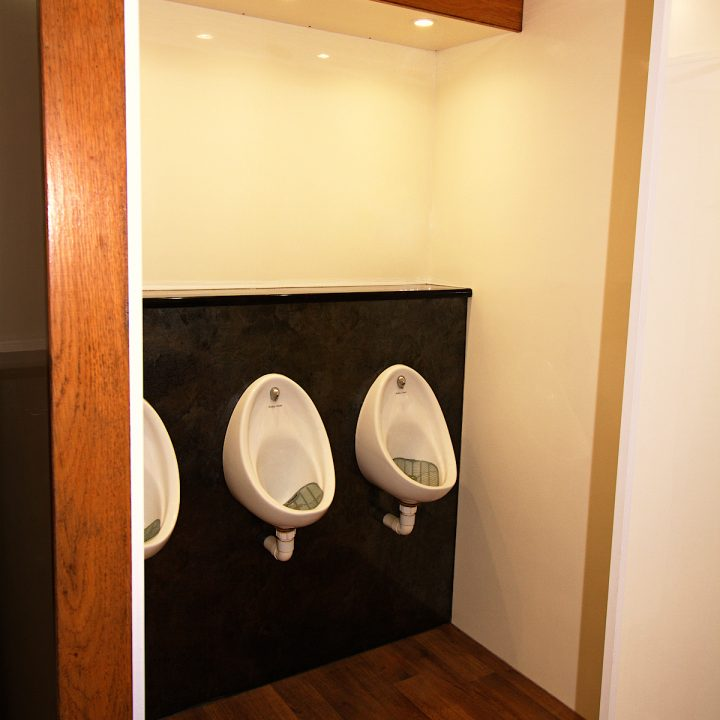 3 + 1 Trailer Mounted Toilet Luxury Trailer for Festivals Small and Big Events Rental Delivery Service