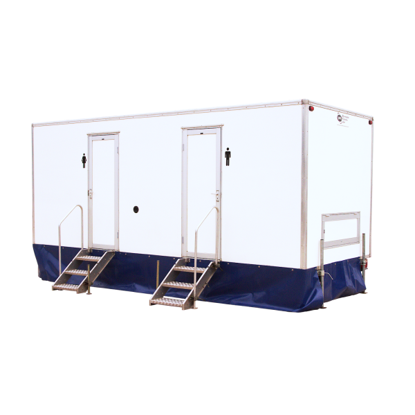 3+1 Trailer Mounted Toilet Trailer for hire to festivals, weddings and sporting events