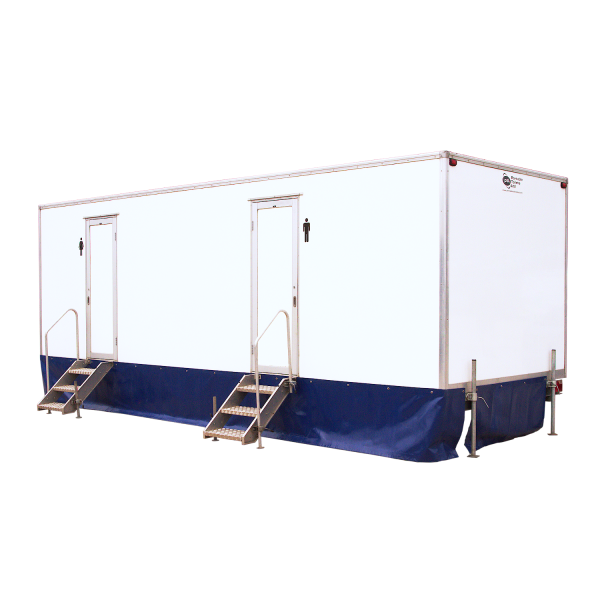 4 + 2 Trailer Mounted Toilet Festivals Gigs Events Trailer Hire Service