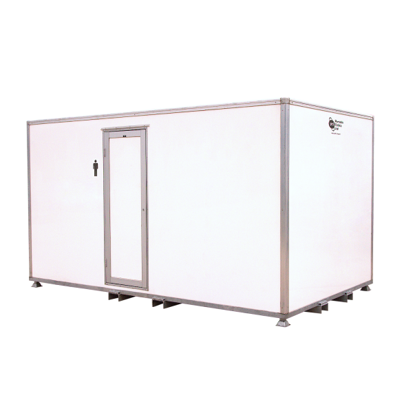 Male 2+7 VACPOD toilet unit for hire