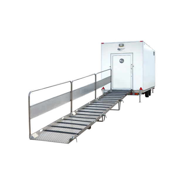 High Dependency Trailer Unit for concerts and sporting events hire
