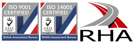 Portable Toilets Limited operate under ISO and RHA accreditations